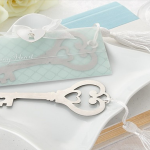 key wedding metal bookmark berkat wedding princess theme