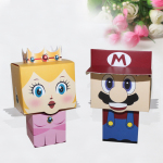 super mario wedding doorgift boxes