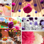 tissue ball wedding decoration singapore